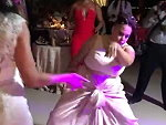 Bridesmaid Absolutely Tears Up The Dance Floor