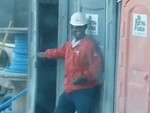 Building Site Toilet Prank