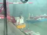 Carrier Ship Accident In China