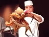 Chinese Chef Executes An Octopus For A Captive Audience