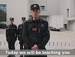 Chinese Police Advise How To Beat A Knife Attack