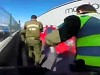 Cops Deal With A Suspect During Peak Hours In Chile