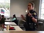Cops Make A Homeless Guy Leave Macca's To Eat His Meal