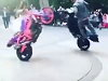 Couple Make An On 2 Wheels Entry To Their Wedding Ceremony