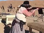 Cow Girl Knows How To Shoot