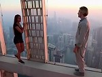 Craaazy Couple Messing About High Above Dubai