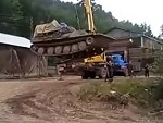 Crane Couldn't Lift The Tank After All