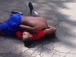 Crazy Street Fight Knock Out