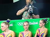 Photographer Knows What's Up With The Olympic Gymnasts