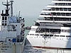 Cruise Ship Broke Its Mooring In Strong Winds