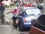 Cyclist Vs Parked Car: Who Will Win?