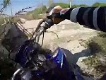 Dirt Biker Pays The Price For Stupidity