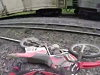 Dirtbikers Riding Down Train Tracks When The Not At All Unexpected Happens