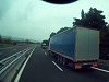 Distracted Truck Driver Absolutely Obliterates Car Stopped In Middle Lane