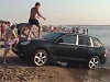 Douchebags Use Their Porsche As A Waterslide