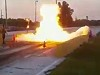 Dragster Spectacularly Blows On Launch