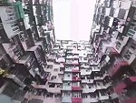 Droning Around Residential Towers In Hong Kong