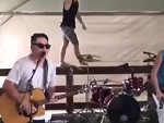 Drummer Puts On An Unforgettable Performance