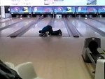 Drunk Bowler Still Manages A Strike