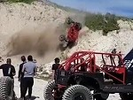 Dune Buggy Stacks It Trying To Make A Climb