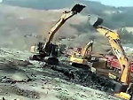 Excavator Operators Battle It Out