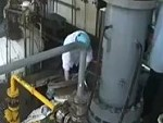 Factory Worker Gets Blown Awayyyyy