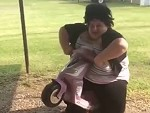 Fatty McFatterson Is Too Fat For That Trike
