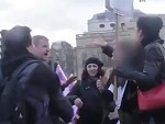 Feminists Attack A Man But He Won't Stand For It