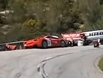 Ferrari Eats A Bag Of Dicks During A Hill Climb