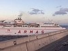 Ferry Loses Control And Bashes Into The Las Palmas Port