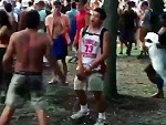 Festival Goer Is Too Fucked Up To Know What's Going On