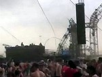 Festival Stage Collapses In A Freak Wind Storm