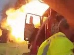 Fireman Caught In A Propane Tank Explosion