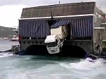 First Rule Of Trucking Is Never Forget The Brakes Whilst On A Ferry