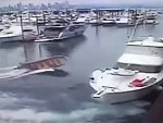 Fishing Boat Inexplicably Loses Control
