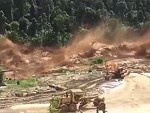 Flood Turns Into An Incredible Wave Of Mud