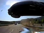 Flying Car Captured On Dashcam