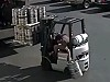 Forklift Boss Beautifully Saves A Keg Of Beer