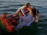 Four Girls On A Buoy