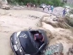 Genius Tries To Cross A Flood And The Inevitable Happens
