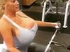 Ginormous Boobs Probably Limit What Exercises She Can Do