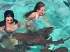 Girl Freaks Out Swimming With Sharks
