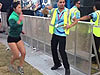 Girl Gets Down With A Festival Security Guard
