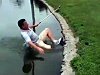 Golfer Is Sure He Can Make The Shot