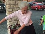 Grandma Easily Masters The Floss Dance