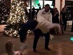 Groom Attempts A Drunken Backflip On The DF