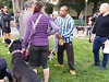 Guy Boots A Dog After It Attacks His Dog In A San Fransisco Park