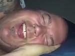 Guy Laughs In His Sleep