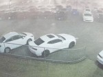 Hail Storm Destroys A Whole Lot Of Brand New Cars