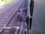 Hanging Out A Train Was The Last Thing He Ever Did
